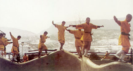 Shaolin Monks at Songshan Temple